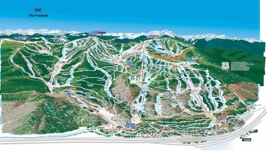 Vail Ski Vacations Vail Ski Packages Vail Ski Trips Vail Ski - Beaver creek ski trail map